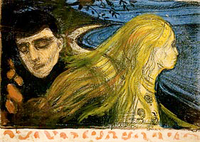 Separation II. Edvard Munch